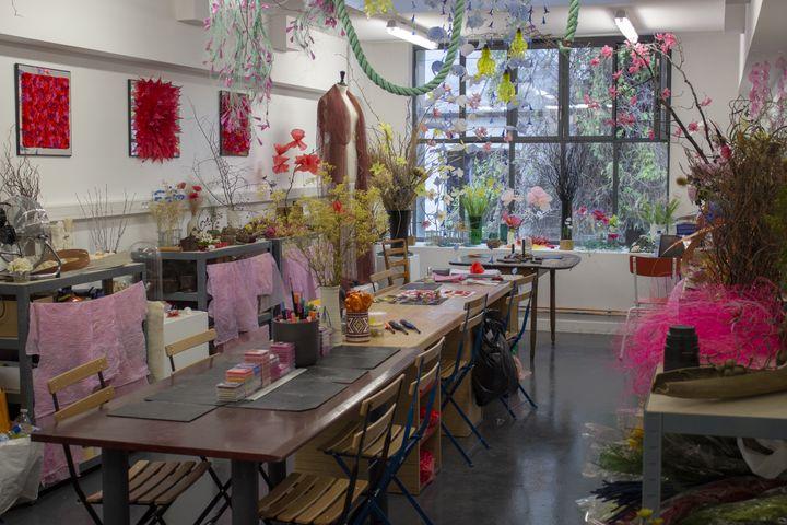 L'atelier parisien du créateur William Amor à la Villa du Lavoir à Paris, 2019 (WILLIAM AMOR)