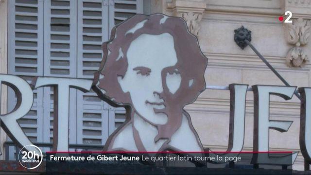 Paris : Gibert Jeune, l'enseigne mythique du quartier latin, va fermer ses portes
