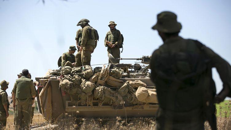 (Israël a donné, ce jeudi, son feu vert au lancement de l'opération terrestre de son armée dans la bande de Gaza. © REUTERS/Baz Ratner)
