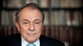 Michel Rocard, le 7 janvier 2010, à Paris. (MARTIN BUREAU / AFP)