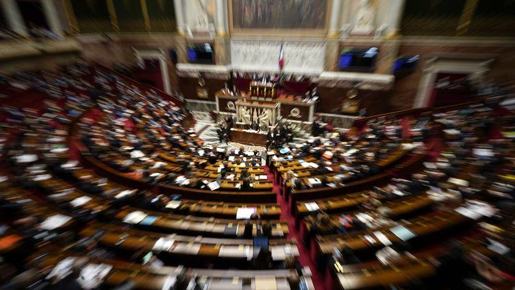 L'Assemblée nationale le 12 mars 2019. (LIONEL BONAVENTURE / AFP)