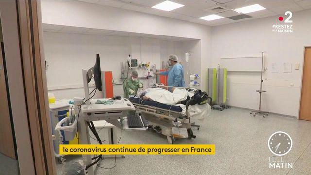 Coronavirus: l'épidémie continue de progresser en France