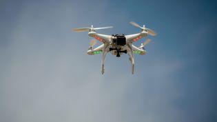 Un drone équipé d'une caméra GoPro, à Istanbul (Turquie), le 11 juin 2013. (  MAXPPP)