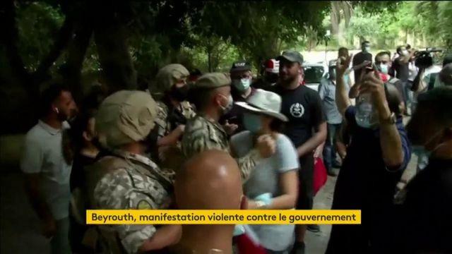 Liban : des manifestations réprimées à Beyrouth