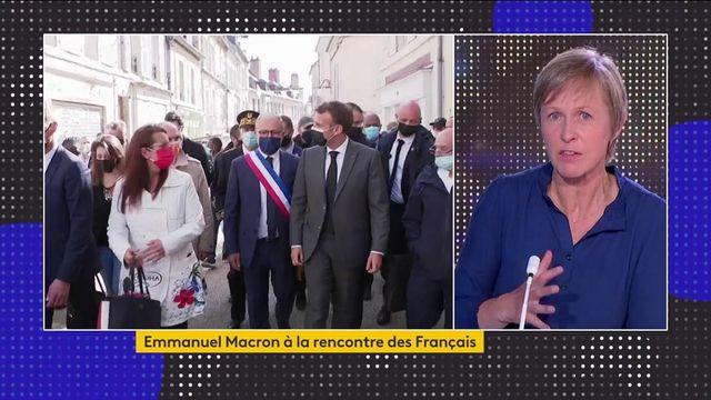 Tour de France des territoires : Emmanuel Macron à la rencontre des Français