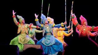 Punjabi banghara, folklore indien  (Folkworld)