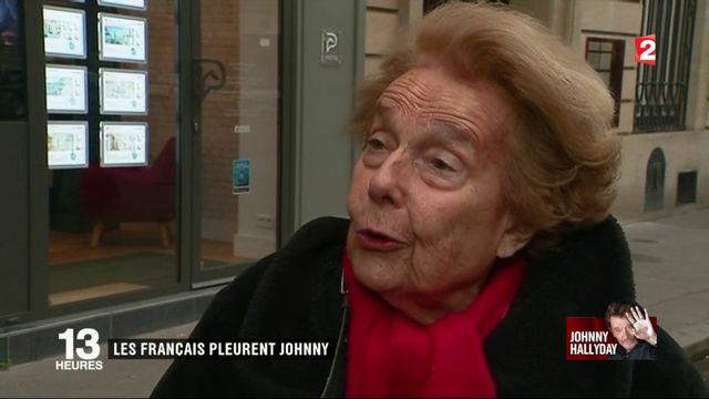 Toute la France est meurtrie par la disparition de Johnny Hallyday
