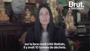 VIDEO. Marion Chaygneaud-Dupuy a débarrassé l'Everest de plusieurs tonnes de déchets (BRUT)