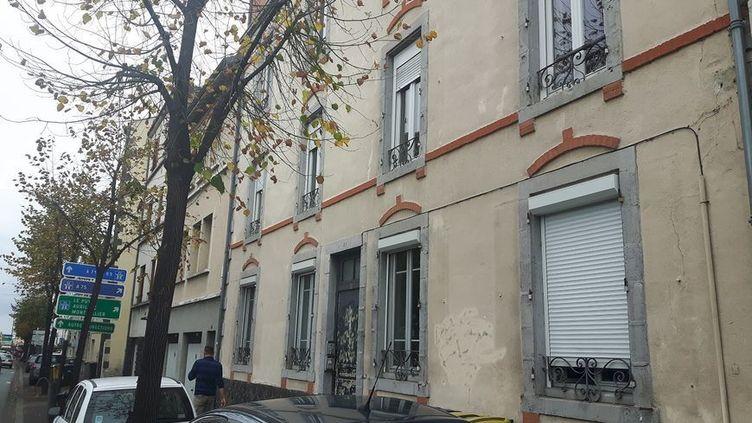 L'immeuble du Boulevard Côte-Blatin où a eu lieu le drame. (Olivier Vidal / Radio France)