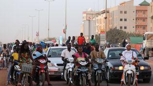 A Ouagadougou, au Burkina Faso, le 27 novembre 2017. (LUDOVIC MARIN / AFP)
