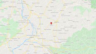 Monteux, dans le Vaucluse. (GOOGLE MAPS)
