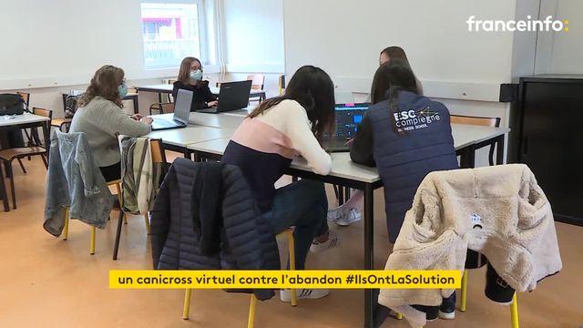 Compiègne : des étudiantes en école de commerce créent une course virtuelle pour défendre la cause animale