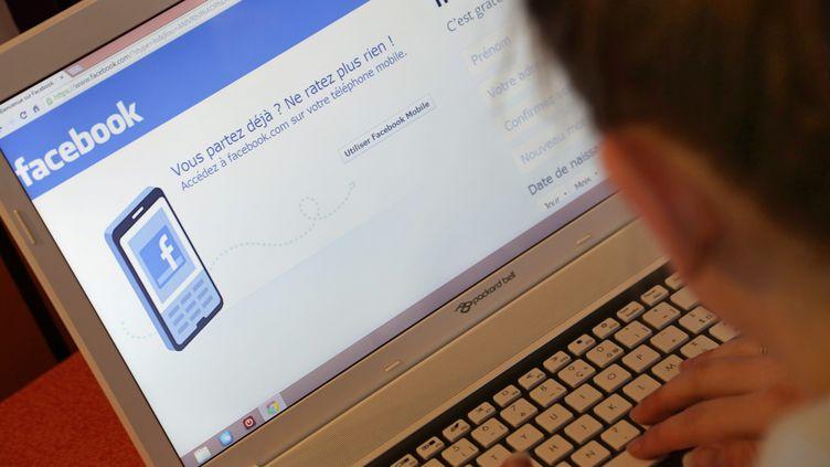 """Facebook admet avoir commis une erreur de """"communication"""" à propos de son étude sur les émotions, mercredi 2 juillet. (  MAXPPP)"""