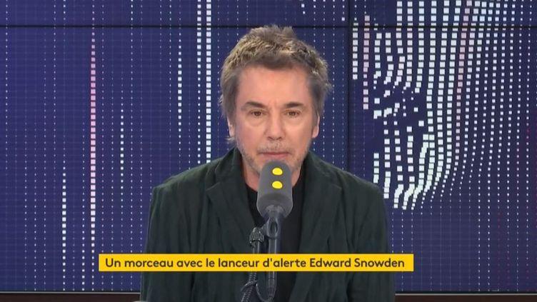 Jean-Michel Jarre était l'invité, jeudi 3 octobre, de franceinfo. (FRANCEINFO)