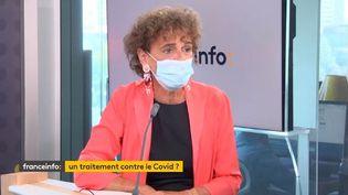 Odile Duvaux, présidente de Xenothera, invité éco de franceinfo (FRANCEINFO)