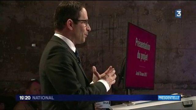 Benoît Hamon détaille son programme