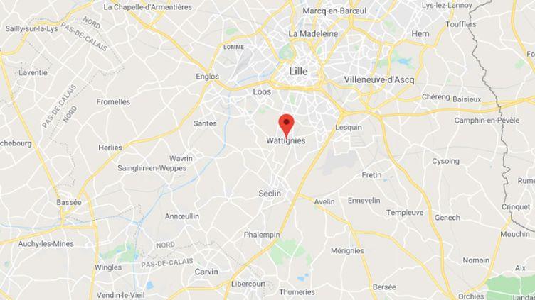 Wattignies (Nord). (GOOGLE MAPS)