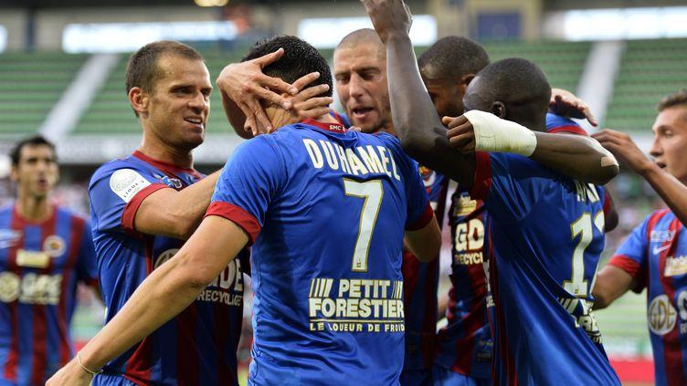 Les Caennais, battus ce week-end en championnat, peuvent oublier cette défaite contre Auxerre. (STEPHANE GEUFROI / MAXPPP)