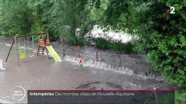Intempéries : des pluies diluviennes en Nouvelle-Aquitaine