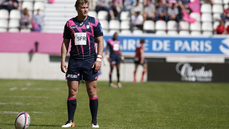 Le joueur du Stade-Français Jules Plisson (THOMAS SAMSON / AFP)