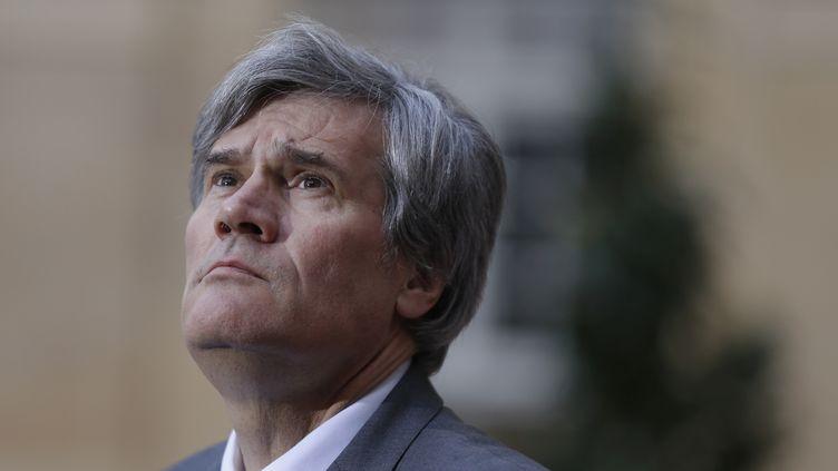 Stéphane Le Foll, le 25 février 2016 à Paris. (THOMAS SAMSON / AFP)