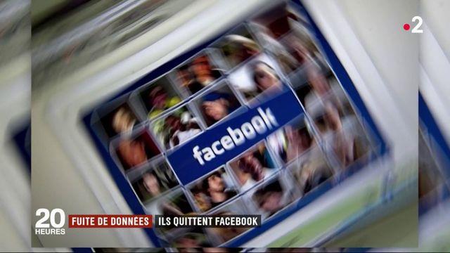 Fuite de données : des milliers d'utilisateurs quittent Facebook