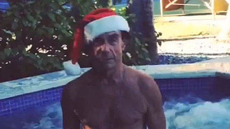 Iggy Pop dans son message de Noël 2013.  (Saisie écran)