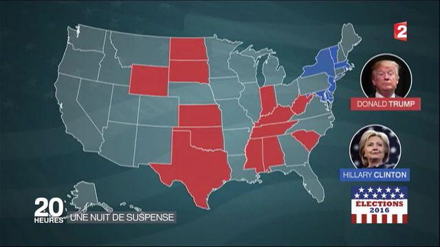 Élection américaine : retour sur une nuit de suspense