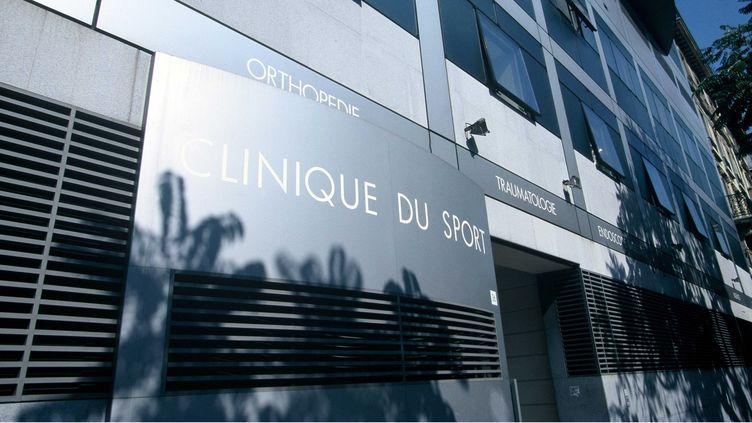 La façade de la Clinique du sport, le 17 septembre 1997 à Paris. (FLORENCE DURAND / SIPA)