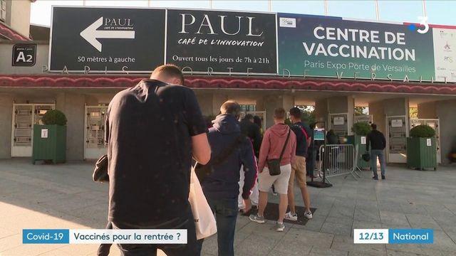 Vaccin contre le Covid-19 : les adolescents vaccinés pour la rentrée ?