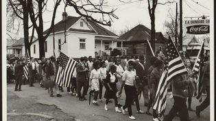 La marche de Selma, le 7 mars 1965. (F&A Archive / The Art Archive / The Picture Desk)