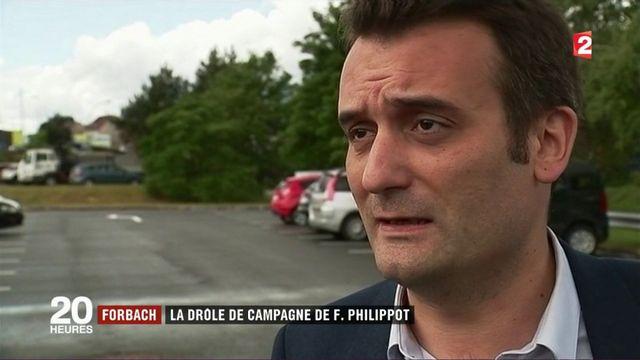 Législatives : la drôle de campagne de Florian Philippot à Forbach