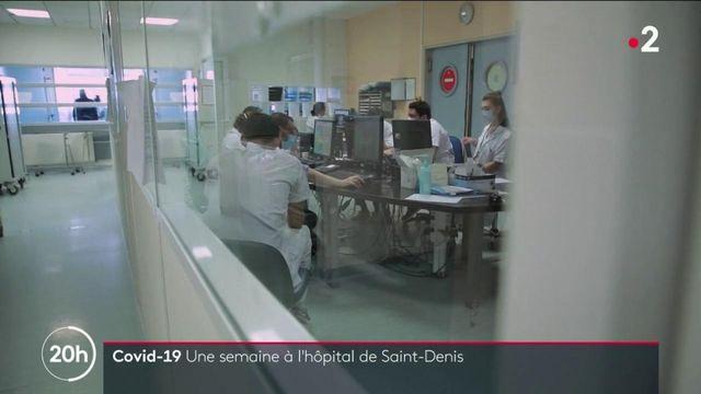 Covid-19 : au cœur des urgences de l'hôpital de Saint-Denis