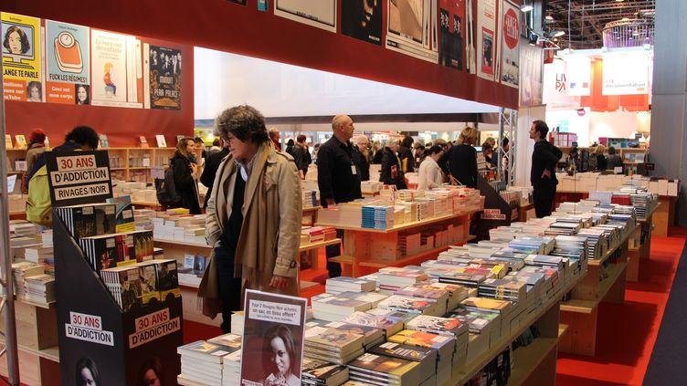 Le salon Livre Paris en 2016  (Onur Usta / ANADOLU AGEN)