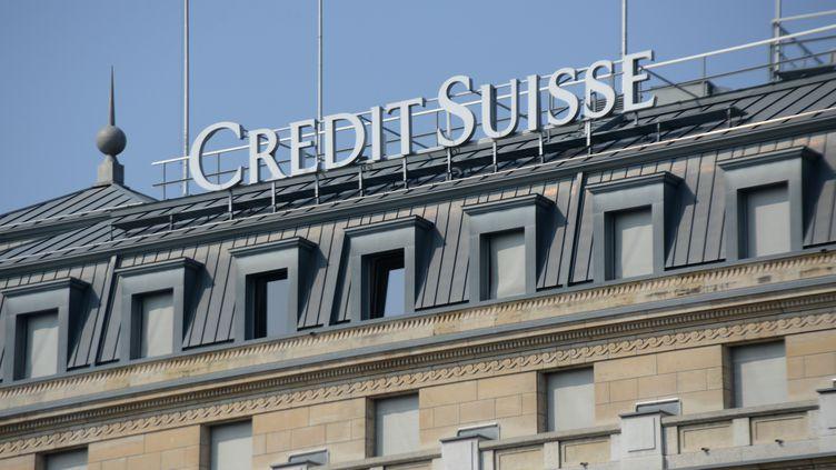 """Le Credit suissea annoncé que ses bureaux à Paris ont été """"contactés par des autorités locales concernant des affaires fiscales de clients"""", le 31 mars 2017. (REMY GENOUD / CITIZENSIDE)"""
