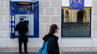 Le jeune homme soupçonné d'avoir escroqué l'une de ses clientes travaillait dans une agence LCL à Aubervilliers (Seine-Saint-Denis). (MAXPPP)