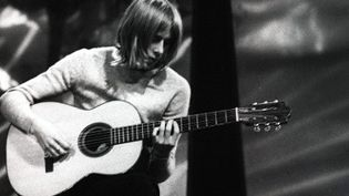 Danny Kirwan, guitariste de Fleetwood Mac, le 1er janvier 1969  (LFI / Photoshot / MaxPPP)