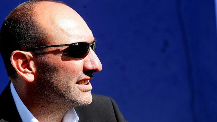 Pierre-Marie Geronomi, le président du SC Bastia (SAMI BELLOUMI / MAXPPP TEAMSHOOT)