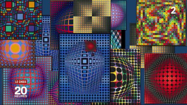 Victor Vasarely : l'icône des années 1970, tendance à nouveau ?