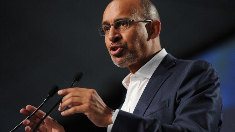 Le premier secrétaire du PS, Harlem Désir, à l'université d'été du parti à La Rochelle, le 25 août 2013. (ALAIN JOCARD / AFP)