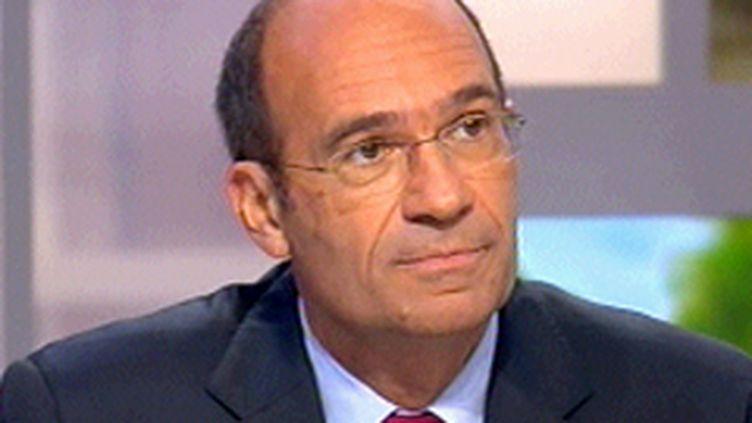 Le ministre du Budget Eric Woerth, en octobre 2008. (France 3)