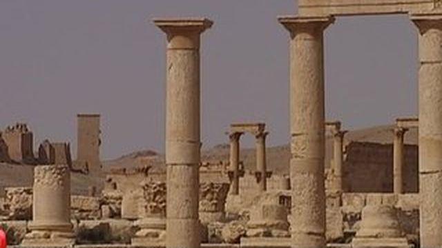 Palmyre sous la menace du groupe Etat islamique