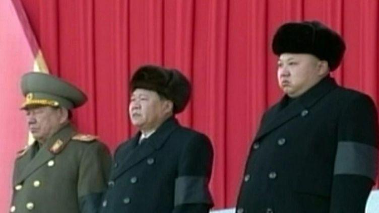 (Le leader nord-coréen Kim Jong-Un le 17 décembre dernier © MAXPPP)
