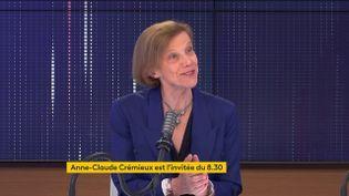 Anne-Claude Crémieux,infectiologue, était l'invitée de franceinfo le 17 mai 2021. (FRANCEINFO / RADIOFRANCE)