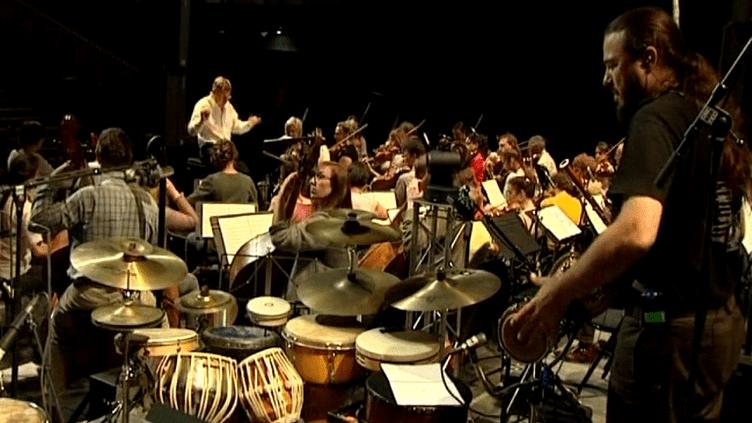 L'ochestre Symphonique du Pas-de-Calais en concert inédit avec Michel Sanchez et son groupe Deep Forest  (Capture d'écran)