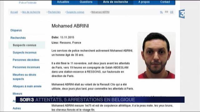 Attentats de Paris : Mohamed Abrini interpelé à Anderlecht