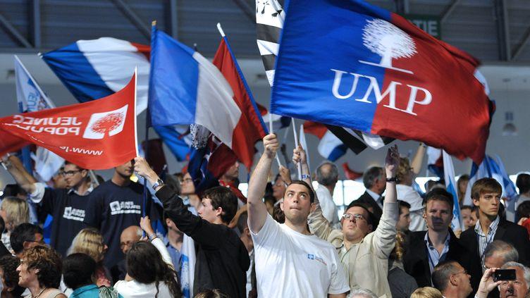 Des militants UMP lors du campus des Jeunes populaires, le 4 septembre 2011 à Marseille (Bouches-du-Rhône). (GERARD JULIEN / AFP)