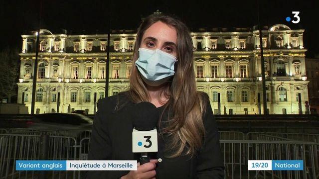 Marseille : nouveau cluster, un cas positif au variant britannique du Covid-19
