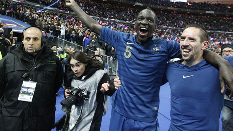 Les deux joueurs français, Mamadou Sakho et Franck Ribéry
