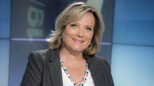 Catherine Matausch présente le journal de 12/13 du dimanche 1 janvier. (France 3)